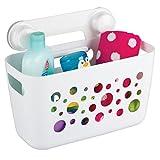 mDesign großer Duschkorb zum Hängen - ideale Duschablage für Kinderspielzeug, Shampoo, Schwämme...