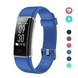 EFO SHM Fitness Tracker mit Pulsmesser, Schrittzähler Uhr Fitness Armband Wasserdicht Schwimmen...