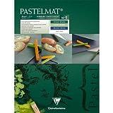 Clairefontaine Pastelmat Pad Pastellpapier Karte, verschiedene Farben, 30x 40cm, 12-teilig