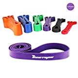 [Resistance Band] BESTOPE Premium Latex Pull Up Fitnessbänder Widerstand-Bänder Trainingsbänder...