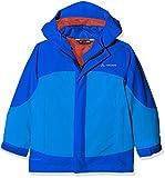 VAUDE Kinder Kids Suricate 3in1 Jacket III Doppeljacke, Ocean, 122/128