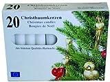 100 Christbaumkerzen - Baumkerzen - weiß