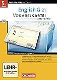 English G 21 - Lernsoftware - Vokabelkarteien interaktiv - zu allen Ausgaben: EG 21 Band 1; 5.Klasse...