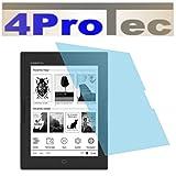 2 Stück GEHÄRTETE ANTIREFLEX Displayschutzfolie für Energy eReader Pro HD Bildschirmschutzfolie