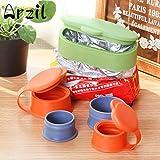 CanVivi Ideale Beutel Klammer Tüte Clips Aromaclips BPA frei Verschlussklemme mit Zufällige Farben...
