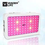 LED Pflanzenlampe, Vander 500 W Led Grow Lampe UV IR Vollspektrum mit Veg & Bloom Dual Kanal für...