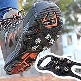 Bluelover Outdoor 5 Zähne 8 Typ Steigeisen Antiskid Rutschfeste Schuhe Cover Snow Urban Nail Tools