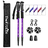 TheFitLife Nordic Walking Bergsteigen Anti-Schock Trekking Walking Trail-Stöcke, 2er Pack,...