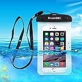 Unterwassergehäuse Tasche, HAWEEL® - Universal, Klar Spielraum-Beutel-Abdeckung für Handys,...