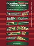 Compatible Christmas Duets For Winds: Clarinet/Trumpet/Baritone Treble Clef/Tenor Saxophone In Bb....
