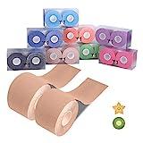Kinesiologie Tape Sport Body Physio Tapeverband 5m x 5cm,8 Farben auswählbar Goalwoo Tape für...