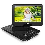 Tragbarer DVD Player Portable Fernseher mit 11,6 Zoll Monitor für Mama Kind Eltern Gerät mit HD...