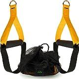 CampTeck U6836 Griffe mit Fußschlaufe für Fitnessbänder, Schlingentrainer, Kabelzugmaschine, Home...