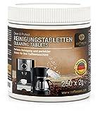 Coffeeano 250 x Reinigungstabletten für Kaffeevollautomaten und Kaffeemaschinen Clean&Protect. Reinigungstabs kompatibel mit Jura, Siemens, Krups, Bosch, Miele, Melitta, WMF uvm.