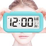 Smart LED Wecker, SHAWE Digital-Wecker mit extra großem Display, Snooze , Datumsanzeige,...