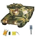German Leopard 2A5 Airsoft KFOR-Edition - RC ferngesteuerter Panzer mit Airsoft Schuss, Sound und...