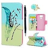 LG G6 Flip Hülle LG G6 Wallet Case YOKIRIN Premium Praktishe Farbmalerei PU Leder Flipcase Book...
