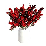 Igemy 5 Blumenstrauß Künstliche Blumen Auspicious Weihnachten Früchte reiche Obst Home Decor...