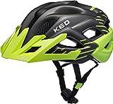 KED Status Helmet Junior Green Black Matt Kopfumfang M | 52-59cm 2018 Fahrradhelm