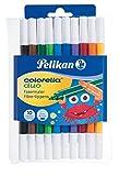 Pelikan, 10 Fasermaler Colorella Duo