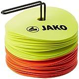 JAKO Equipment Markierungsscheiben, Neongelb/Neonorange, 2128