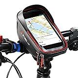 DOUSPT Fahrradtasche,Fahrradtaschen Fahrrad Handytasche Wasserdicht Lenkertasche Fahrrad Tasche...