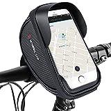 Fahrrad Handyhalterung, Fahrrad Lenkertasche Fahrradtaschen Rahmentaschen Wasserdicht Handyhalter...