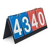 GOGO 4-Digital Tragbarer Tisch Top Anzeigetafel/Score Flipper 0–99
