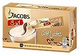 Jacobs 3 für 1 Cafe Latte, 10 praktische Becher-Portionen ,Löslicher Kaffee mit Kaffeeweißer und...