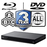 Sony ubp-x800UHD Blu-ray Player Multiregion Blu-ray & DVD. Code Free Blu-ray Player für alle Zone...