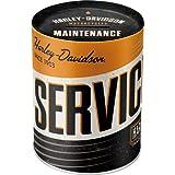 Nostalgic-Art 31017 Harley-Davidson - Service | Retro Spardose | Spar-Büchse | Geld-Dose |...