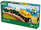 BRIO World 33775 - Holz Transportzug, bunt