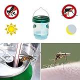 Gardigo 2in1 Wespenfalle und Mückenfalle mit Solar-LED-Leuchte