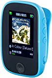 auvisio MP3 Player Bluetooth: Clip-On-Multimedia-Player, 4,6-cm-Farb-Display, Bluetooth, Pedometer...