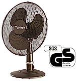 Winde - Tischventilator Schwarz - Kühlgerät - Luftkühler - Geräuscharm - 3 Geschwindigkeitstufen...