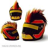 Helm - Irokese für den Motorradhelm, Crosshelm, Motocrosshelm - Kinderhelm Irokesenaufsatz -...