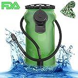 SKL 3 Liter Trinkblase Große Öffnung Wasserblase Fda Geprüfter BPA-Frei Trinksystemideal für...