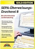 SEPA Überweisungs Druckerei 8 - die sichere Alternative zum Online Banking für Windows 10 / 8.1 /...
