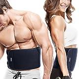 Bauchweggürtel FREETOO Hot Belt Rückenbandage für Damen und Herren Bauchgürtel für einfaches und effektives Abnehmen Fitnessgürtel Schwitzgürtel für Sport Fitness und Training