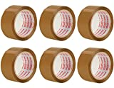 Packatape® ? 6 Rollen 48mm x 66m Braunes Paket-Klebeband für Päckchen und Kisten. Mit diesem 6er Pack hochleistungs-Klebeband erwerben sie ein sicheres, klebestarkes Verschlussmaterial für ihre Pakete auf das sie sich verlassen können.