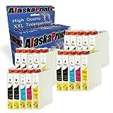 20x Tintenpatronen Komp. für Epson T0711 XL T0711XL für Stylus DX4400 DX4050 D78 SX215 D92 SX210...