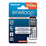 Panasonic eneloop, Ready-to-Use Ni-MH Akku, AAA Micro, 2er Pack, min. 750 mAh, 2100 Ladezyklen,...