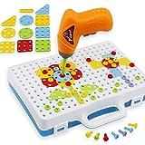 Mecotech Mosaik Steckspiele Spielzeug Mosaik Puzzlespiel Set Konstruktionsspielzeug Kreatives DIY...