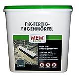 Baumarkt Mem Fix und Fertig Fugenmörtel, Basalt, Keine Ameisen, Keine Pfützen, 12,5 kg