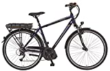 Prophete Herren Elektrofahrrad E-Bike Alu-Trekking 28 Zoll E-Novation Navigator 6.5, nachtblau matt,...
