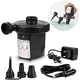 Elektrische Luftpumpe, Omitium 2 in 1 Elektropumpe Power Pump Multifunktion Luftpumpe Auto...