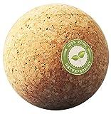 Korkball - Kork Faszienkugel - Natur Massageball - Trigger Zonen Faszienball, Triggerpunkt...