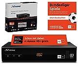 STRONG SRT 7806 HD Satelliten Receiver für HD Plus inkl. HD+ Karte DVB-S2 Full HD (HDTV, HDMI, LAN,...