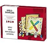 ASS Spielesammlung für Senioren große Spielsteine Spielset Gesellschaftsspiel