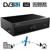 Crypto ReDi S100 DVBS2 Satelliten receiver für öffentliche Sender( DVBS2, Full HD, HDMI, Dolby...